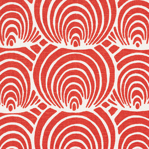 SCHUMACHER CORALLINE FABRIC / RED