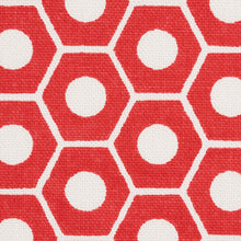 Load image into Gallery viewer, SCHUMACHER QUEEN B FABRIC / RED