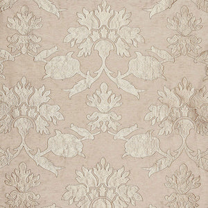 Schumacher  Roussillon embroidery fabric / Greige