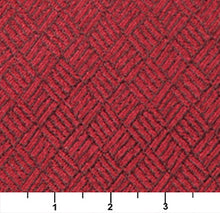 Load image into Gallery viewer, Essentials Heavy Duty Mid Century Modern Scotchgard Upholstery Fabric Red Abstract / Ruby