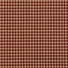 Load image into Gallery viewer, Essentials Red Beige Upholstery Fabric / Port Houndstooth