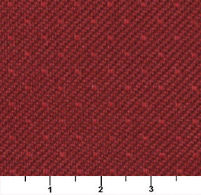 Essentials Heavy Duty Mid Century Modern Scotchgard Red Dot Upholstery Fabric / Poppy