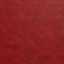 Load image into Gallery viewer, Essentials Breathables Red Heavy Duty Faux Leather Upholstery Vinyl / Garnet