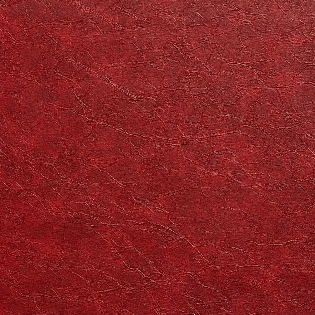 Essentials Breathables Red Heavy Duty Faux Leather Upholstery Vinyl / Garnet