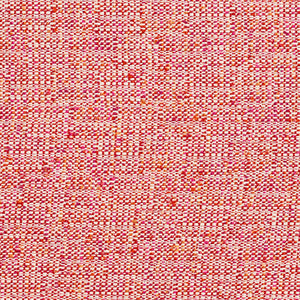 Essentials Crypton Red Pink Orange White Upholstery Fabric / Raspberry