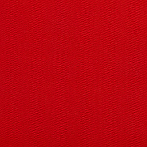 Essentials Cotton Twill Red Upholstery Fabric / Poppy
