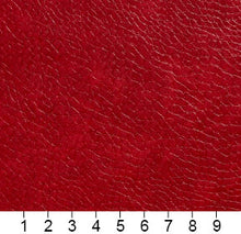 Load image into Gallery viewer, Essentials Breathables Red Heavy Duty Faux Leather Upholstery Vinyl / Salsa