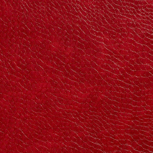 Essentials Breathables Red Heavy Duty Faux Leather Upholstery Vinyl / Salsa