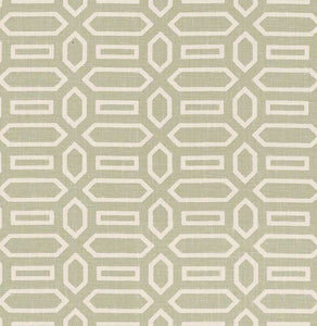 SCHUMACHER PAVILLION FABRIC / SAGE