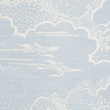 Load image into Gallery viewer, SCHUMACHER KUMO VILLAGE FABRIC / SKY