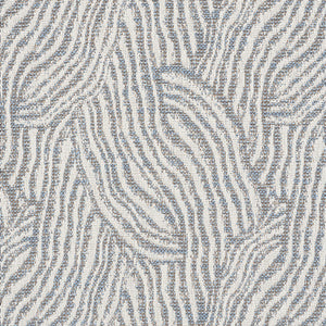 SCHUMACHER STRATA INDOOR OUTDOOR FABRIC / SLATE
