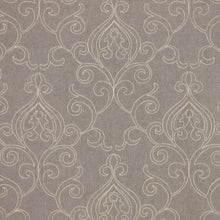 Load image into Gallery viewer, 4 Colors Embroidered Drapery Fabric Beige Gray Blue Ivory Cream / RMIL13