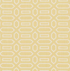 SCHUMACHER PAVILLION FABRIC / STRAW