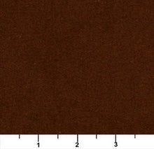 Load image into Gallery viewer, Essentials Cotton Velvet Saddle Brown Upholstery Drapery Fabric