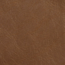 Load image into Gallery viewer, Essentials Breathables Saddle Brown Heavy Duty Faux Leather Upholstery Vinyl / Tumbleweed
