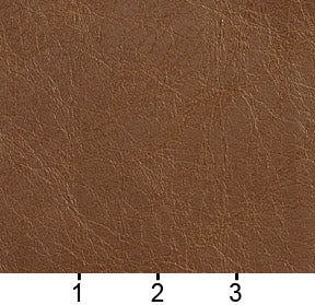 Essentials Breathables Saddle Brown Heavy Duty Faux Leather Upholstery Vinyl / Tumbleweed