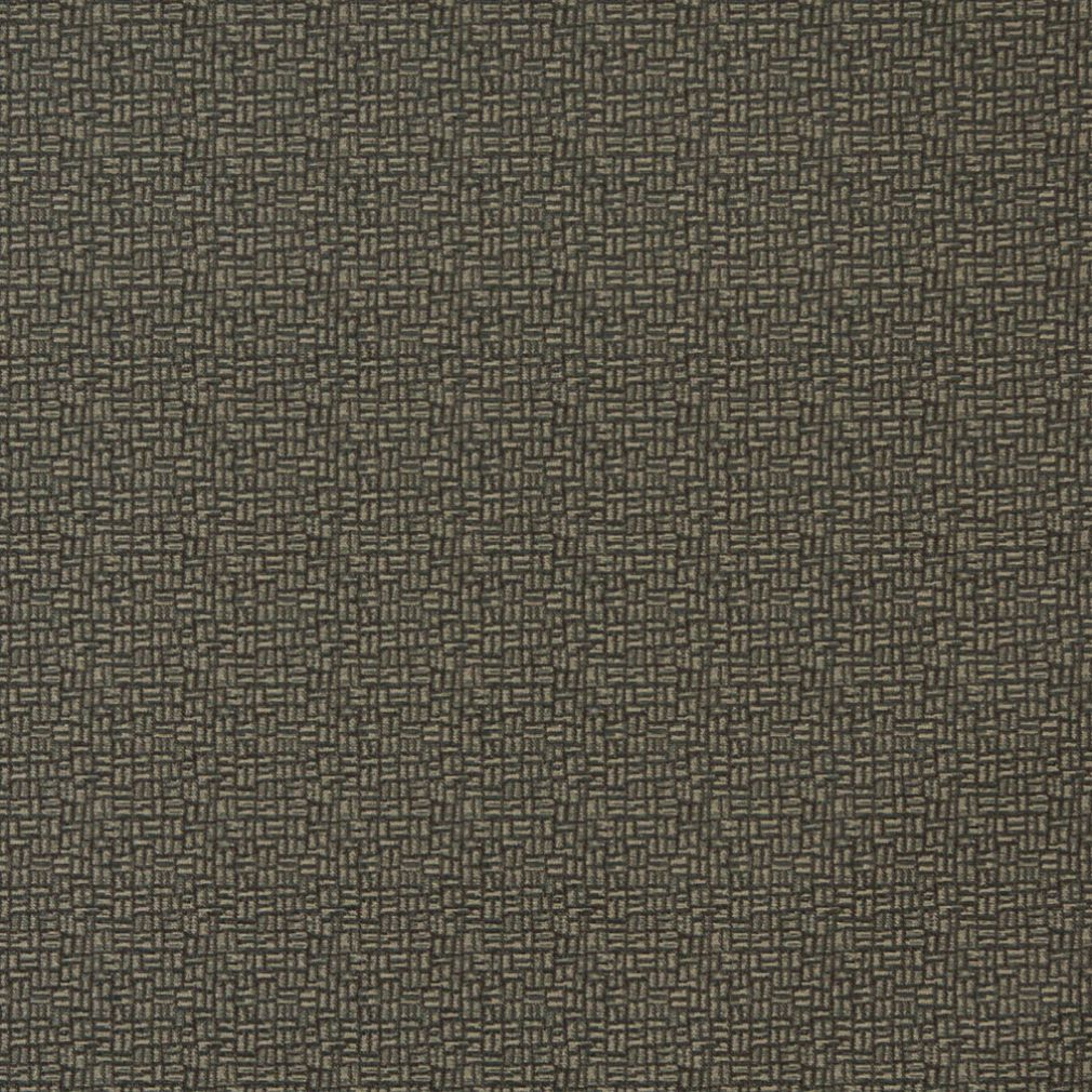 Essentials Sage Green Abstract Upholstery Fabric / Teak