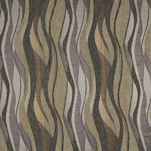 Load image into Gallery viewer, Essentials Chenille Sage Olive Green Gray Abstract Upholstery Fabric / Platinum