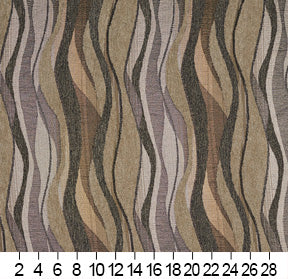 Essentials Chenille Sage Olive Green Gray Abstract Upholstery Fabric / Platinum