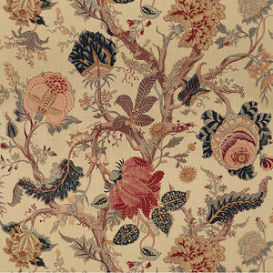 Schumacher Indian Arbre fabric / Tea