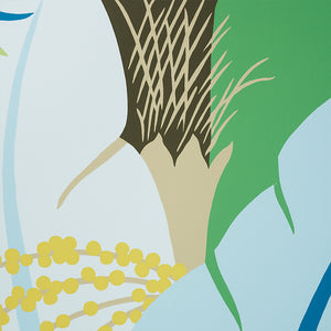 Schumacher Ananas Wallpaper / Peacock