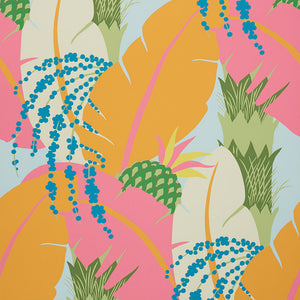 Schumacher Ananas Wallpaper / Tropical