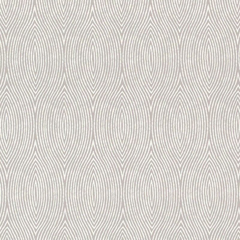Schumacher Bark Wallpaper / Fog