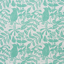Load image into Gallery viewer, Schumacher Bird & Bee Wallpaper / Seaglass