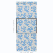 Load image into Gallery viewer, Schumacher Coral Wallpaper / Blue