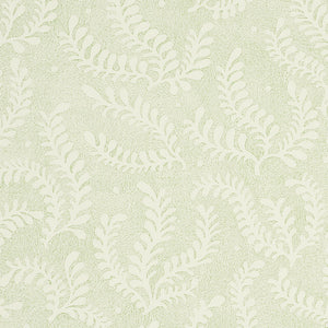 Schumacher Etched Fern Wallpaper / Leaf