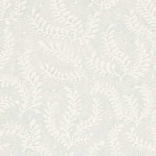 Load image into Gallery viewer, Schumacher Etched Fern Wallpaper / Sky
