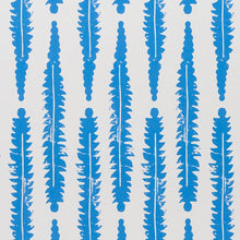 Load image into Gallery viewer, Schumacher Fern Wallpaper / Blue