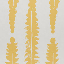 Load image into Gallery viewer, Schumacher Fern Wallpaper / Mustard