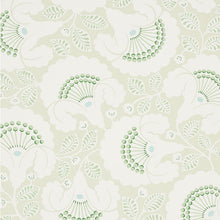 Load image into Gallery viewer, Schumacher Jackie Wallpaper / Leaf