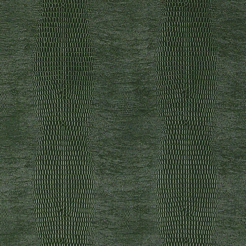 Schumacher Komodo Wallpaper / Forest Green