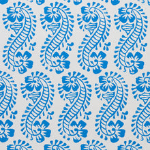 Load image into Gallery viewer, Schumacher Lani Wallpaper / Blue