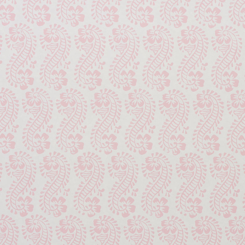 Schumacher Lani Wallpaper / Pink