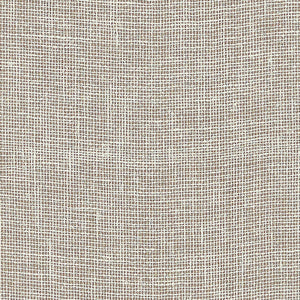 Schumacher Linen Gesso Wallpaper / Cocoa