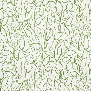 Schumacher Solandra Vine Wallpaper / Leaf