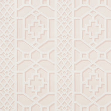 Load image into Gallery viewer, Schumacher Zanzibar Trellis Wallpaper / Blush