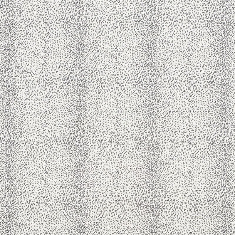 Schumacher Mini Leopard Outdoor Fabric / Charcoal