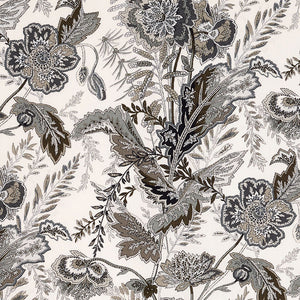 Schumacher Sandoway  Fabric 174545 / Charcoal