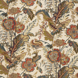 Schumacher Sandoway Vine Fabric / Spice