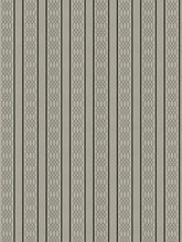 Load image into Gallery viewer, 4 Colorways Stripe Trellis Upholstery Fabric Blush Gray Beige Black Green