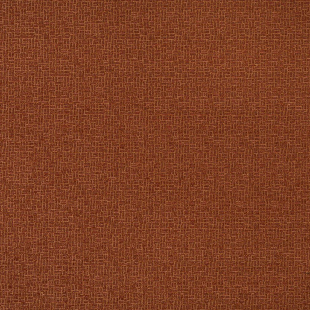 Essentials Sienna Abstract Upholstery Fabric / Rust