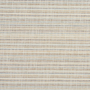 Essentials Heavy Duty Upholstery Drapery Stripe Fabric / Aqua Gray White