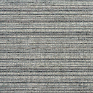Essentials Heavy Duty Upholstery Drapery Stripe Fabric / Dark Gray Silver