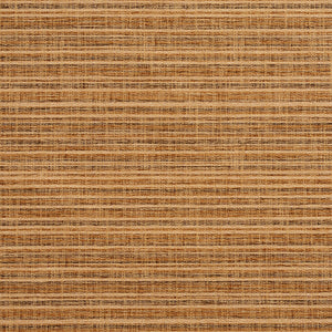 Essentials Heavy Duty Upholstery Drapery Stripe Fabric /  Light Brown Gold