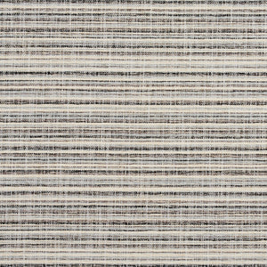 Essentials Heavy Duty Upholstery Drapery Stripe Fabric / Light Gray Black White