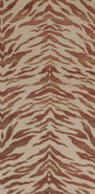 Load image into Gallery viewer, Vervain Feline Animal Pattern Upholstery Drapery Fabric / Sunset